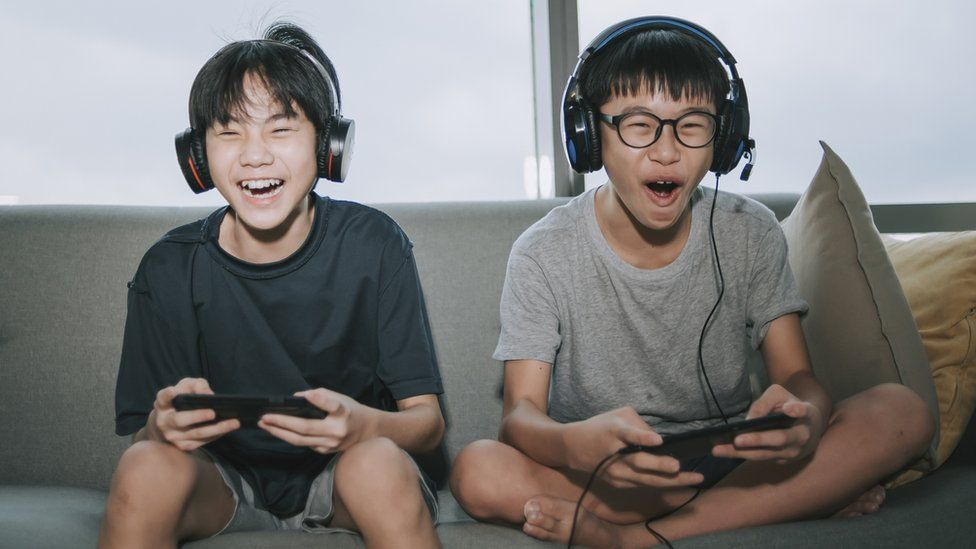 China crackdown on gaming for children